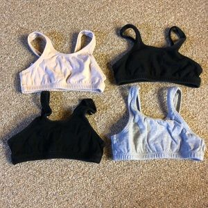 4 little girls bras